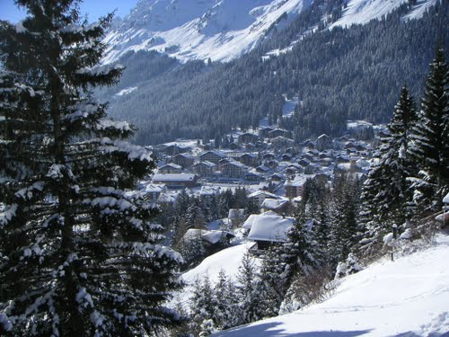 Morgins, Winterpanorama