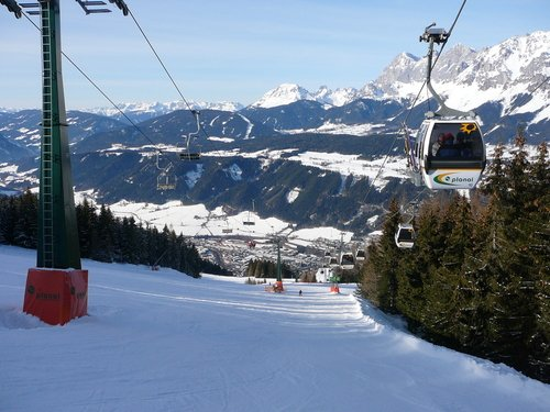 Red piste, Planai, Schladming